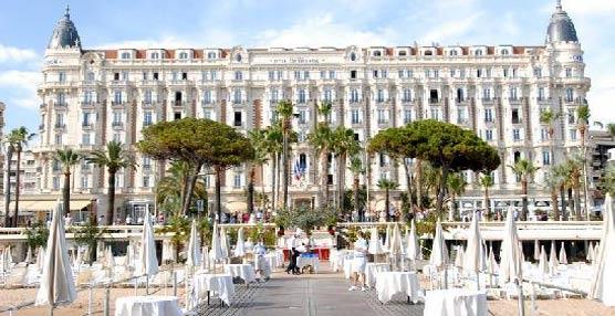 Un individuo robó el viernes, a mano armada, joyas por valor de 40 millones de euros en el hotel Carlton de Cannes