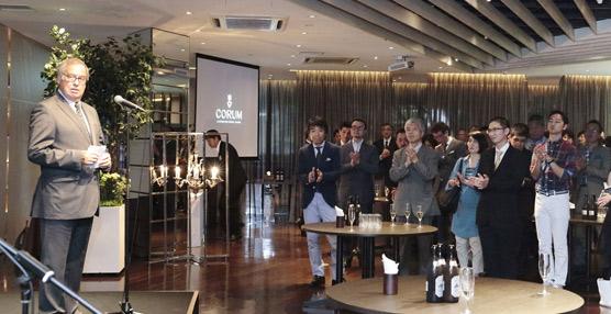 La relojera suiza Corum anuncia la apertura de una filial en Japón durante la presentación de sus nuevos modelos y directiva