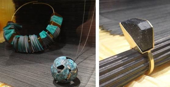 La Escuela madrileña Arte 3 celebra una exposición con los trabajos de diez centros joyeros de toda Europa