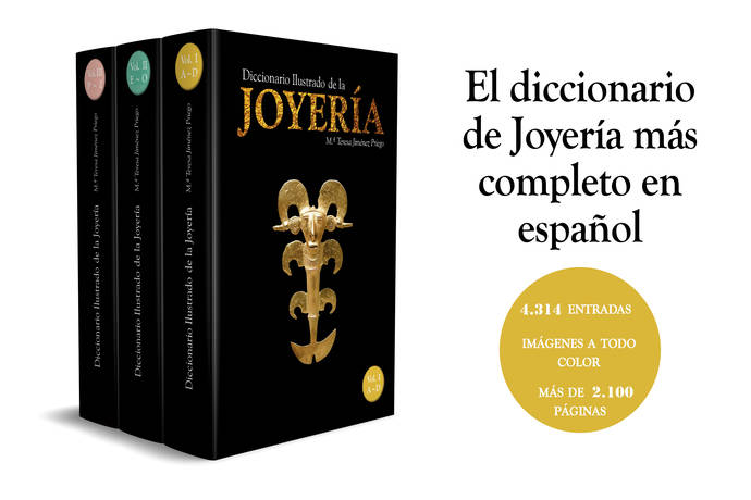 Participa en el sorteo de un Diccionario Ilustrado de la Joyería