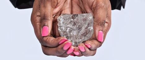 ¿40 millones por el diamante en bruto más grande?