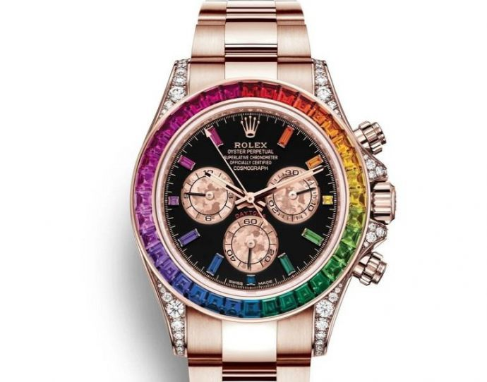 CR7 lleva el rainbow de Rolex perfecto para el Orgullo