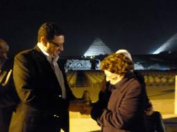 El Diccionario Ilustrado de la Joyería conquista las pirámides de Egipto