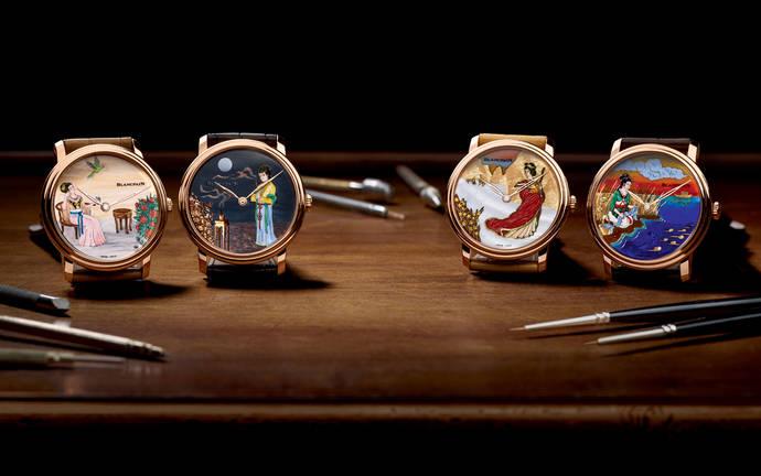Blancpain homenajea a las Cuatro Bellezas de la tradición china