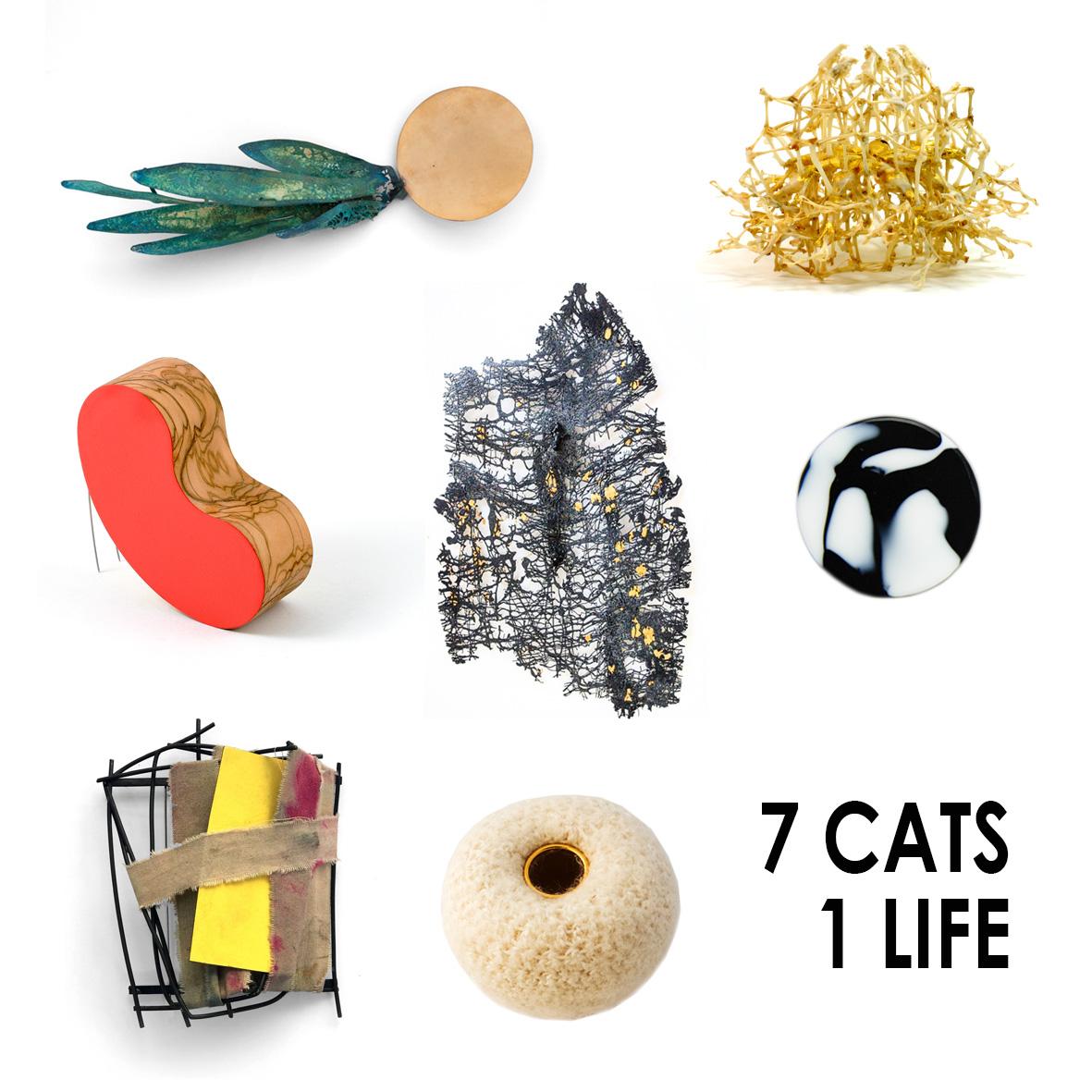 La galería madrileña Lalabeyou reúne a <em>7 Gatos</em> joyeros