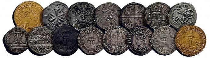 Primera gran subasta online de monedas medievales españolas