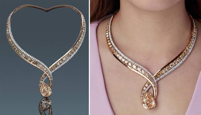 Una subasta solidaria de diamantes rusos y diseño chino