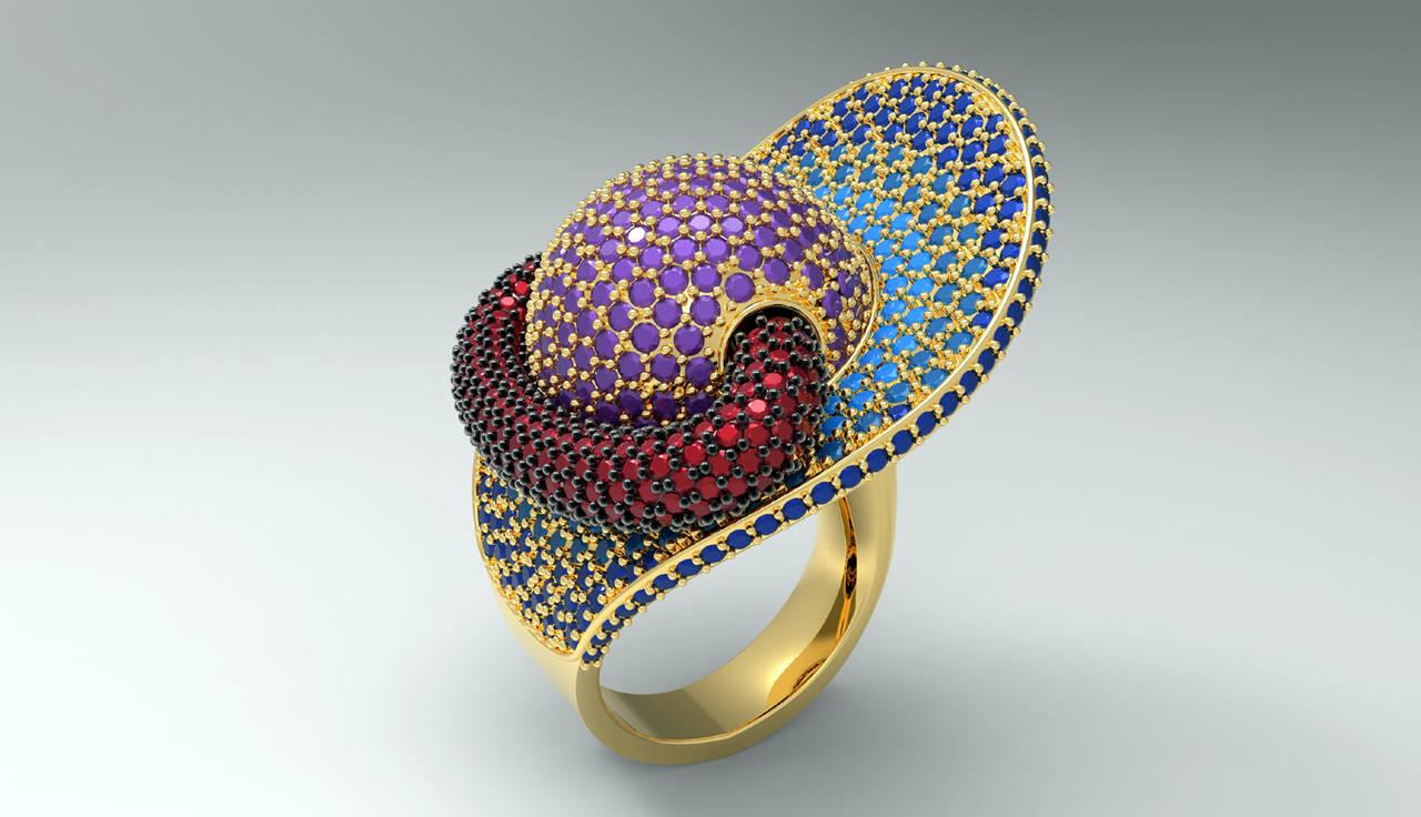 Álvaro Larrosa, premio Solidscape:<em> La Joyería ya no puede ser competitiva sin el diseño 3D</em>