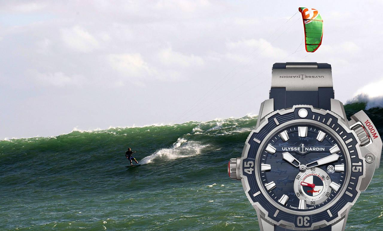 Ulysse Nardin se alía con el <em>hombre más rápido</em> sobre el agua