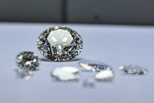 Los precios de los diamantes, estables después de los shows en Las Vegas
