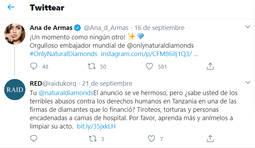 Críticas a la nueva campaña del diamante natural protagonizada por Ana de Armas