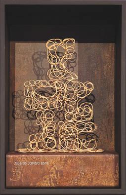 El trofeo del Colegio de Joyeros de Cataluña concedido a ProDiam es una obra de la joyera Anna Juan.