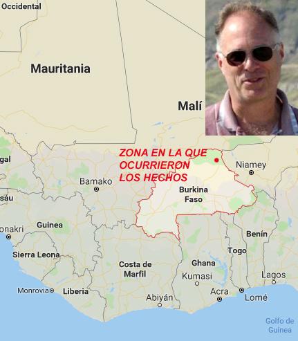 El Isis asesina a un geólogo canadiense en Burkina Faso