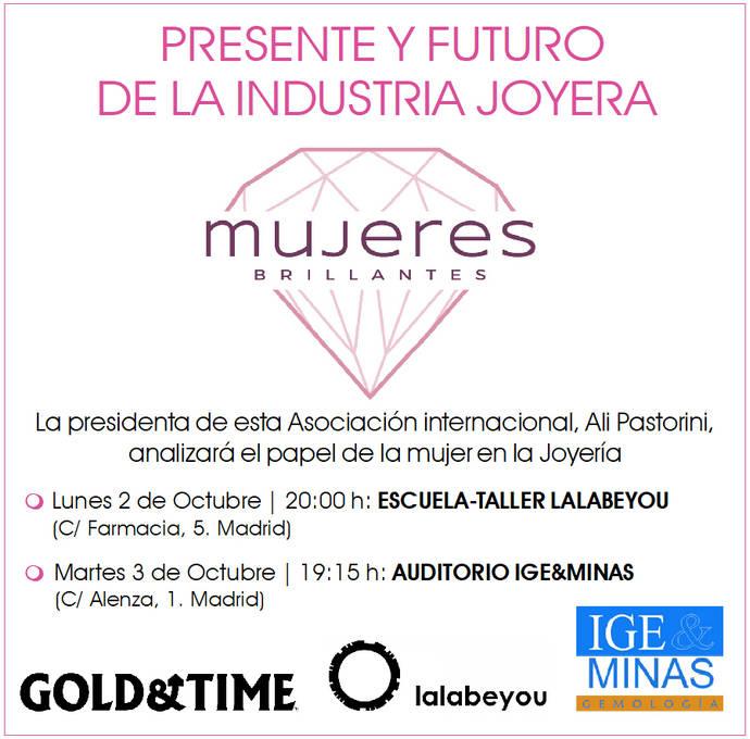 Cita en Madrid con la Asociación Mujeres Brillantes