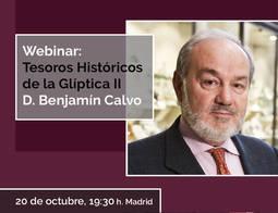 Las conferencias online del IGE se inauguran mañana a las 19:30, a cargo de su presidente, Benjamin Calvo.