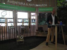 El director de Proyectos de Citytime, Rubén Benarroch, durante la presentación de la nueva marca del grupo.