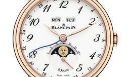 Blancpain presenta en Otoño su nuevo modelo Villeret con calendario completo