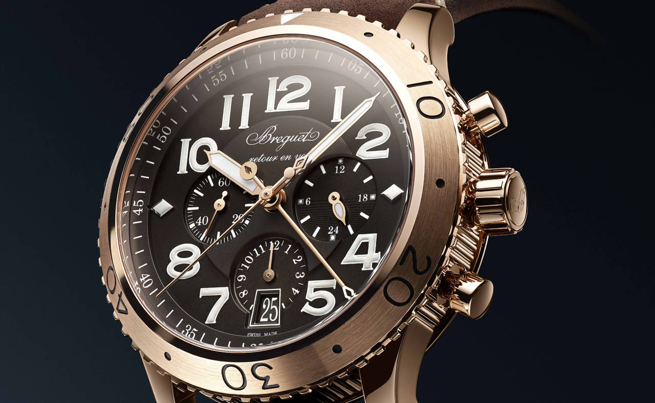 Breguet lanza una versión <em>formal</em> de su crono XXI 3817