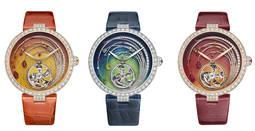 Chaumet presenta tres soberbios relojes-joya con tourbillón