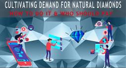 CIBJO analiza hoy el regreso del diamante a la publicidad de masas