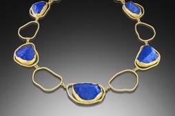 Joyas con lapislázuli, el color de la próxima primavera