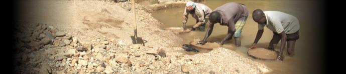 Un video-documental muestra el abismo entre la minería artesana del diamante y el mercado