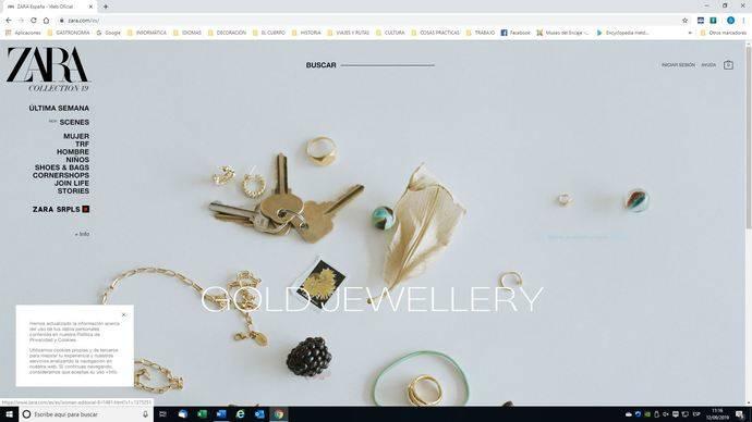 La AEJPR insta a Zara a retirar su publicidad online de joyería en oro