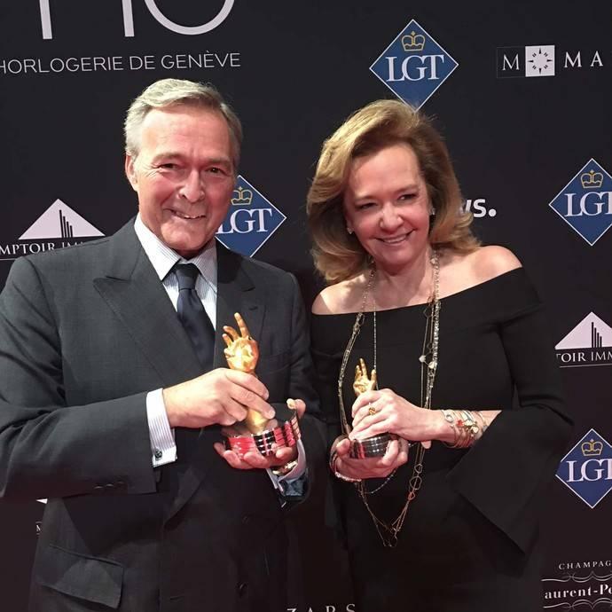 Chopard, premiada por partida doble en los Premios de la Relojería