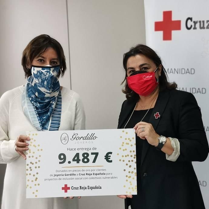 Joyería Gordillo recauda casi 10.000 euros contra el Covid