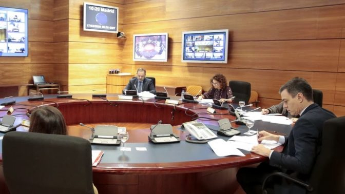 El Gobierno plantea una moratoria de seis meses a Pymes y Autónomos