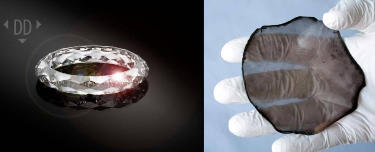 El anillo <em>de</em> diamante sintético, una realidad