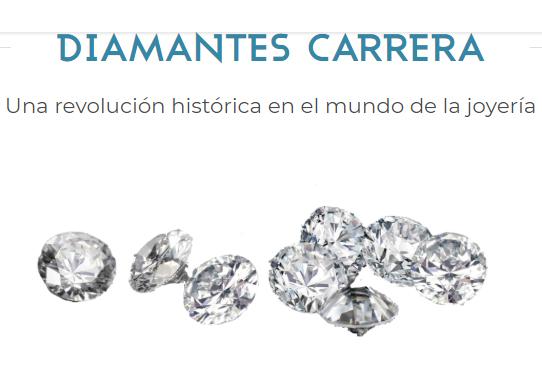 La familia Carrera apuesta fuerte por los diamantes creados