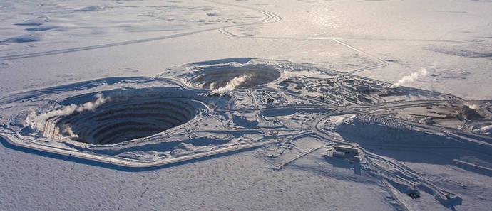 De Beers abandona el extremo noroeste de Canadá