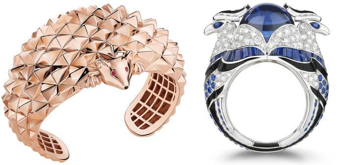 Boucheron París incorpora cuatro nuevas piezas a su 'bestiario' de alta joyería
