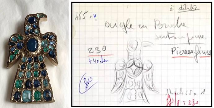Coco Chanel y las fíbulas aquiliformes visigodas
