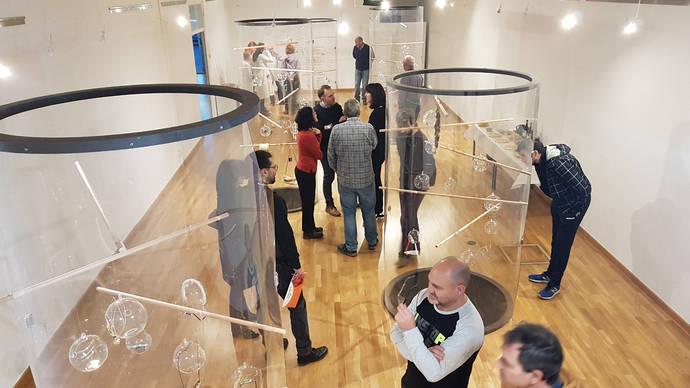 Inauguración de la muestra en el Centro Regional de Artesanía de Castilla y León (CEARCAL).