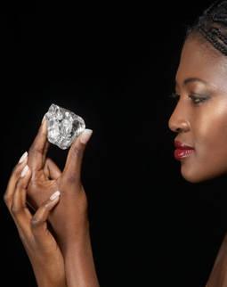 Uno de los diamantes analizados ha sido el Lesotho Promise, que alcanzó los 603 quilates en bruto.