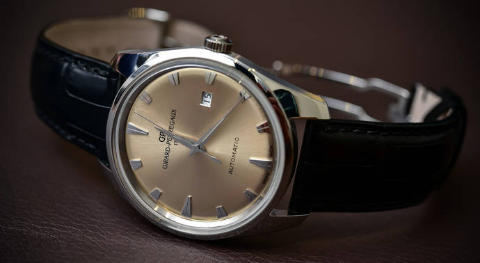 Girard Perregaux presenta su reedición del reloj 1957 Gyromatic
