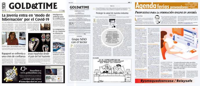 Lea la edición del Periódico GOLD&TIME en pdf