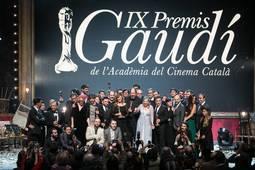 Foto con todos los galardonados durante la edición 2017.