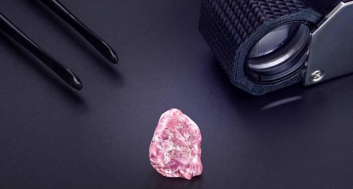 Graff Diamonds compra un diamante rosa irrepetible