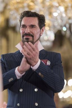 Gustavo Marinaro, durante la celebración del desfile Spanish-Arab Fashion, celebrado el pasado mes de marzo.