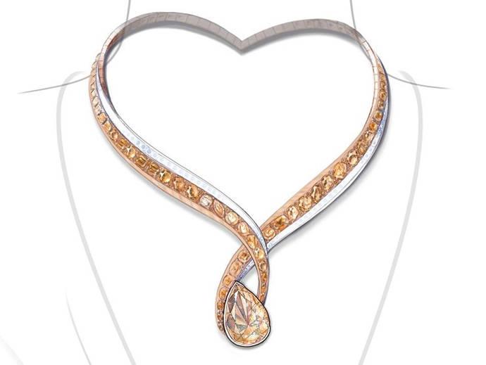 Diamantes rusos y tres soberbios diseños para una subasta solidaria