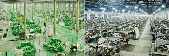 La factoría de Huanghe Whirlwind, en Cantón, asegura estar entre las tres primeras del mundo, con una producción de 1,5 millones de quilates anuales de diamantes para uso industrial y calidad gema.