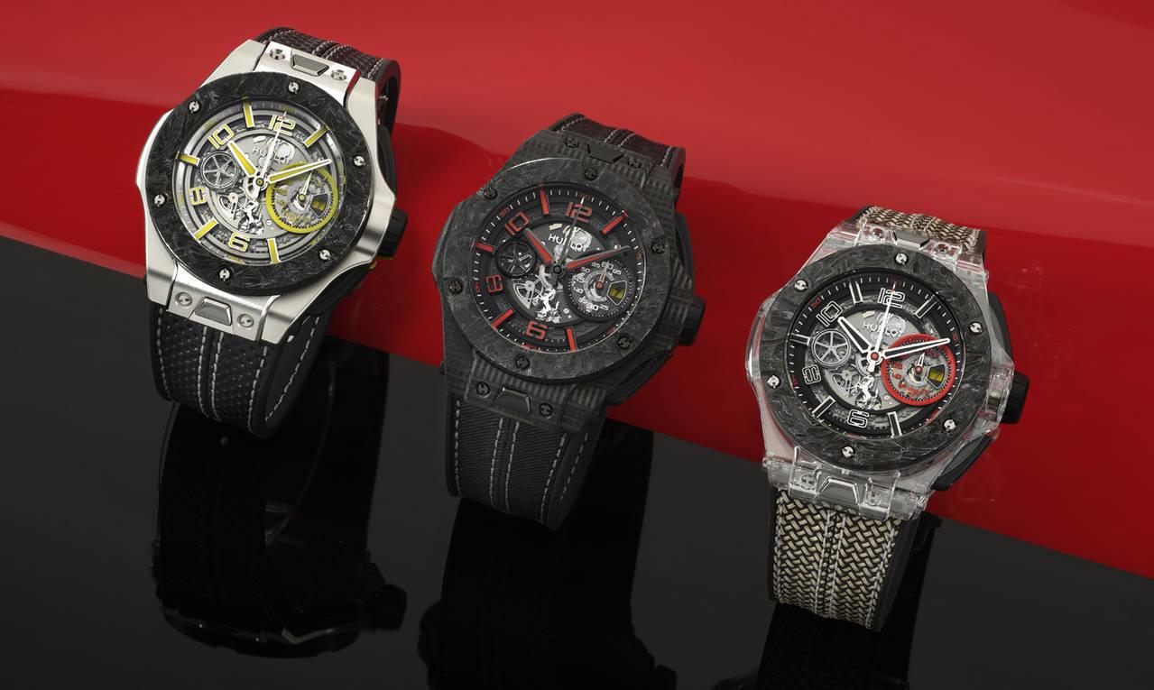 Hublot celebra con tres modelos el 90 Aniversario de Ferrari
