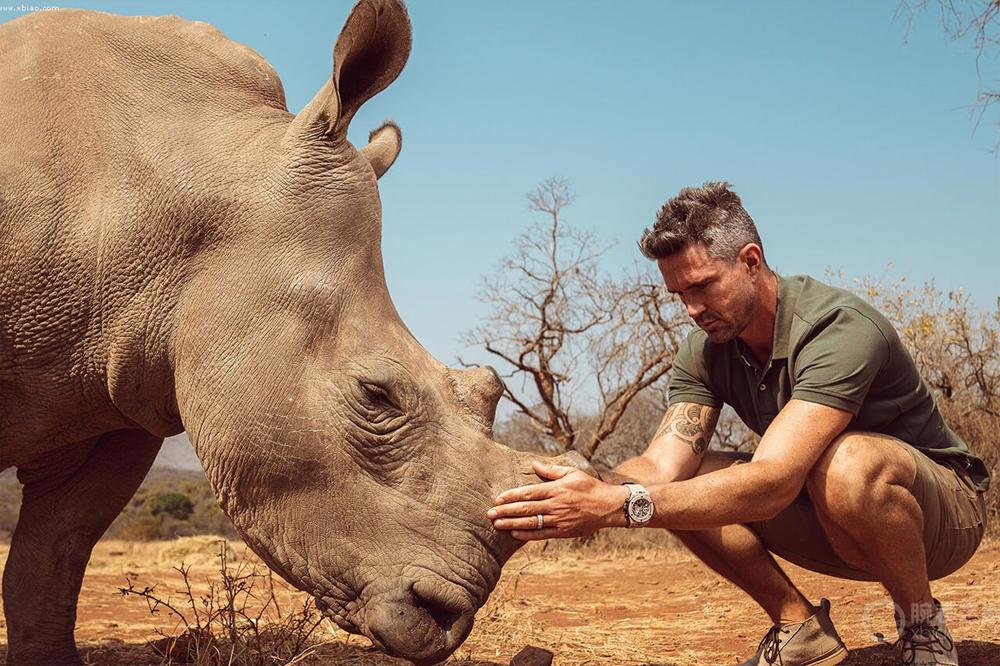 Hublot apoya una iniciativa para la conservación de los rinocerontes