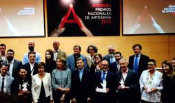 Ganadores y finalistas de la Edición de este año de los Premios Nacionales de Artesanía.