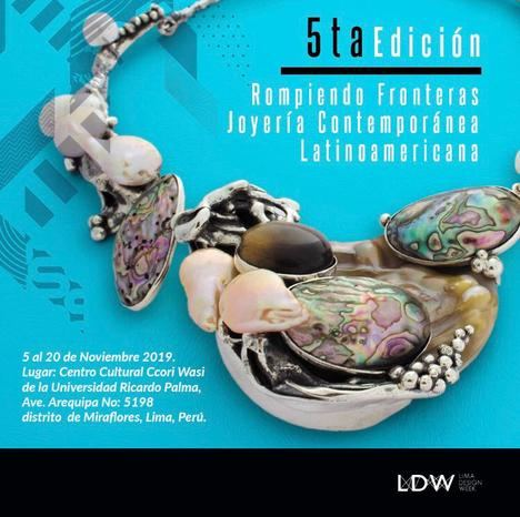 Lima acoge la V Edición de la exposición itinerante de joyería Rompiendo Fronteras