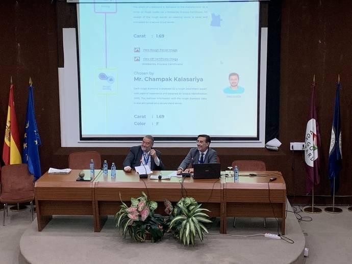 Facet presentó en ProDiam su nueva tecnología 'blockchain': DiamondByway