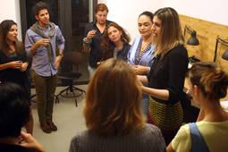 La presidenta-fundadora de Mujeres Brillantes, Ali Pastorini, durante su última visita a España.